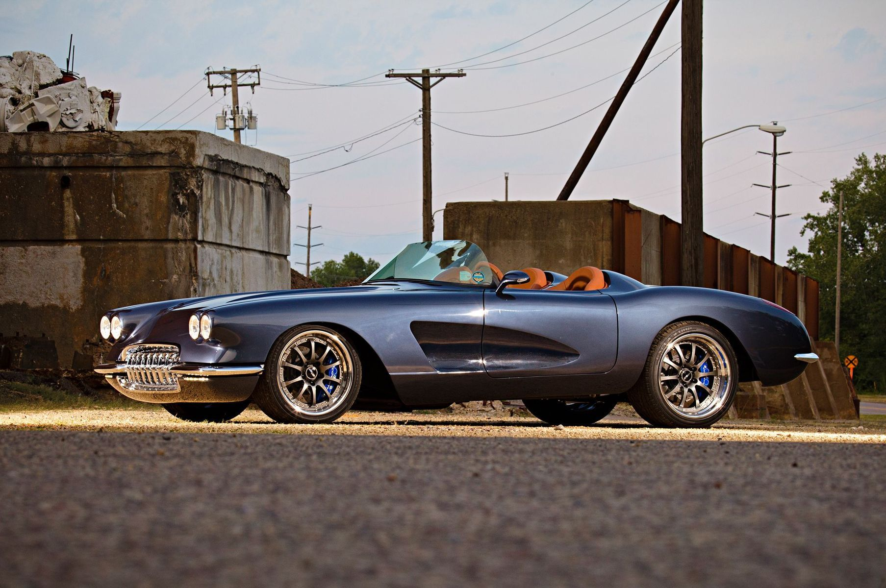 1959 Chevrolet Corvette | Gumer Alvero's Pro-Touring '59 Corvette on Forgeline ZX3R Wheels