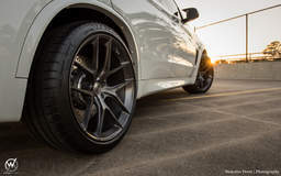 F85 BMW X5 M on Forgeline One Piece Forged Monoblock VX1 Wheels