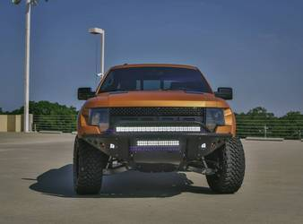 2010 -2014 FORD RAPTOR STEALTH FRONT BUMPER | NO WINCH MOUNT