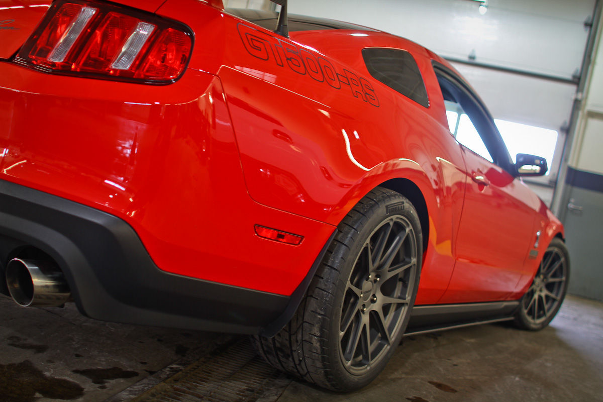 2014 Ford Mustang | Kenny Brown Mustang GT500-RS on Forgeline Pne Piece Forged Monoblock GA1R Wheels