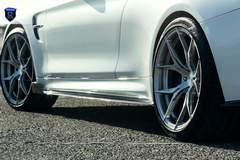 BMW M4 - White Side Stance Shot