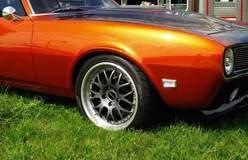 Erik Kuit's Burnt Orange '68 Camaro on Forgeline WC3 Wheels