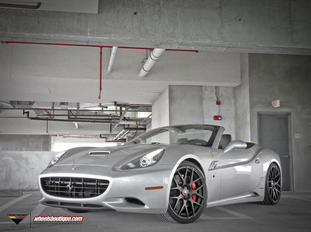 Ferrari California | Ferrari California on Vorsteiner VF140's