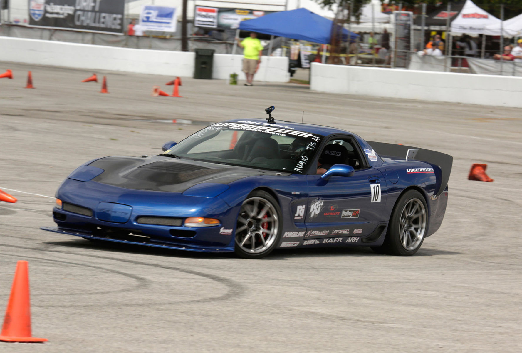 2003 Chevrolet Corvette Z06 | Danny Popp's Corvette on Forgeline GS1R Wheels