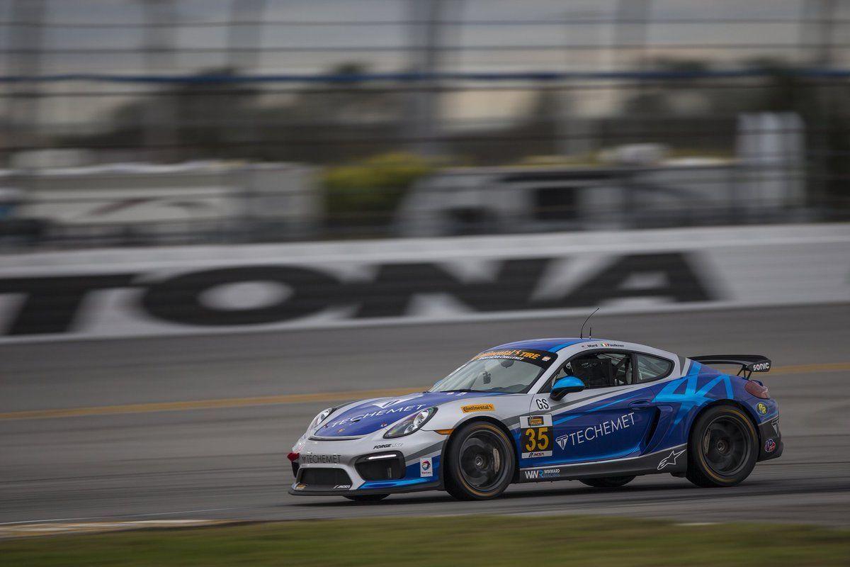 2017 Porsche Cayman | CJ Wilson Racing Porsche Cayman GT4 Clubsports Test at Roar Before the 24 on Forgeline One Piece Forged Monoblock GS1R Wheels