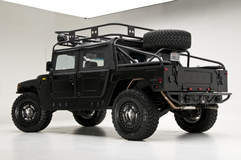 RCH Designs Custom Built Hummer H1 - Rear Side Shot