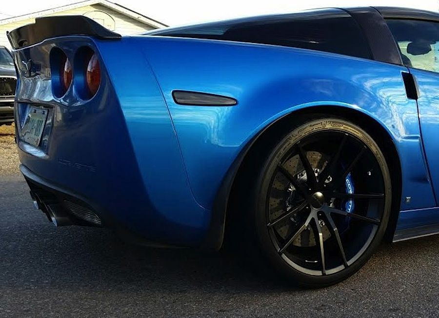 2013 Chevrolet Corvette ZR1 | Daren Plenzig's Corvette ZR1 on Forgeline One Piece Forged Monoblock AR1 Wheels