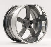 Forgeline CH3P Wheel in Graphite & Polished