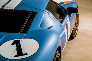 Le Mans Ford GT Side