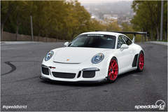 Josh Shokri's Speed District Porsche 991 GT3 on Center Locking Forgeline One Piece Forged Monoblock GA1R Wheels