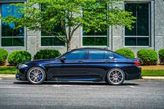 "Ruben Ocampo's Twin-Turbocharged ""Ronin"" BMW M5 on Center Locking Forgeline One Piece Forged Monoblock GA1R Wheels"