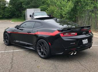 "2018 Chevrolet Camaro | Hennessey ""Exorcist"" ZL1 Camaro on Forgeline One Piece Forged Monoblock GS1R Wheels"