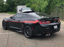"Hennessey ""Exorcist"" ZL1 Camaro on Forgeline One Piece Forged Monoblock GS1R Wheels"