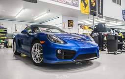 Porsche Cayman XPEL Full Front