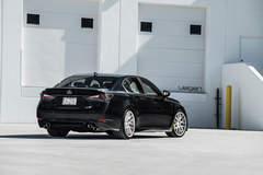 Lexus GSF on Velgen Wheels  VMB7 Matte Silver  20x9 & 20x10.5