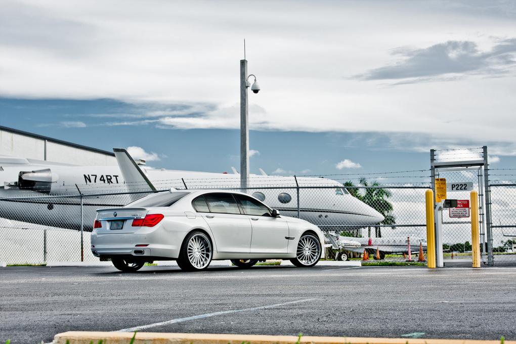 2012 BMW 7 Series   '12 BMW 750Li on XO New York's