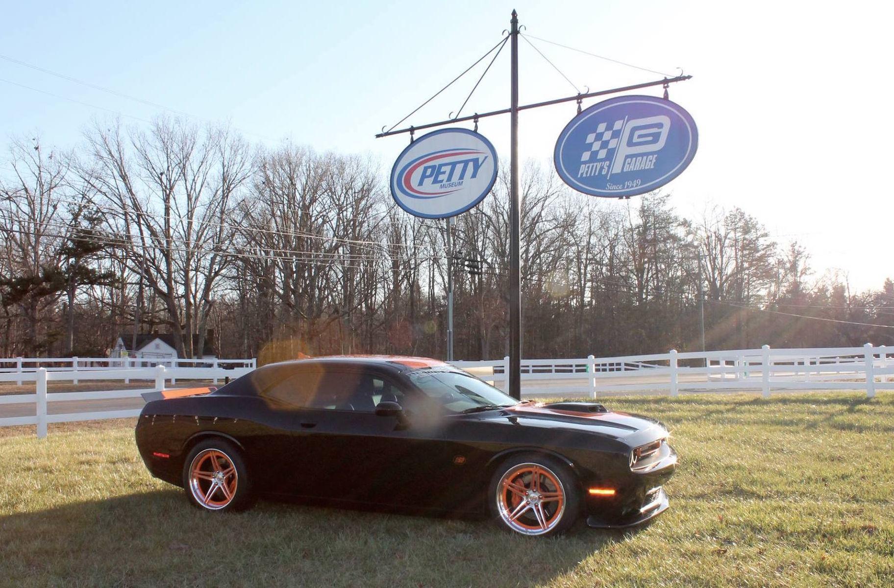 2016 Dodge Challenger | Petty's Garage Supercharged 2016 Dodge Challenger on Forgeline SC3C-SL Concave Wheels