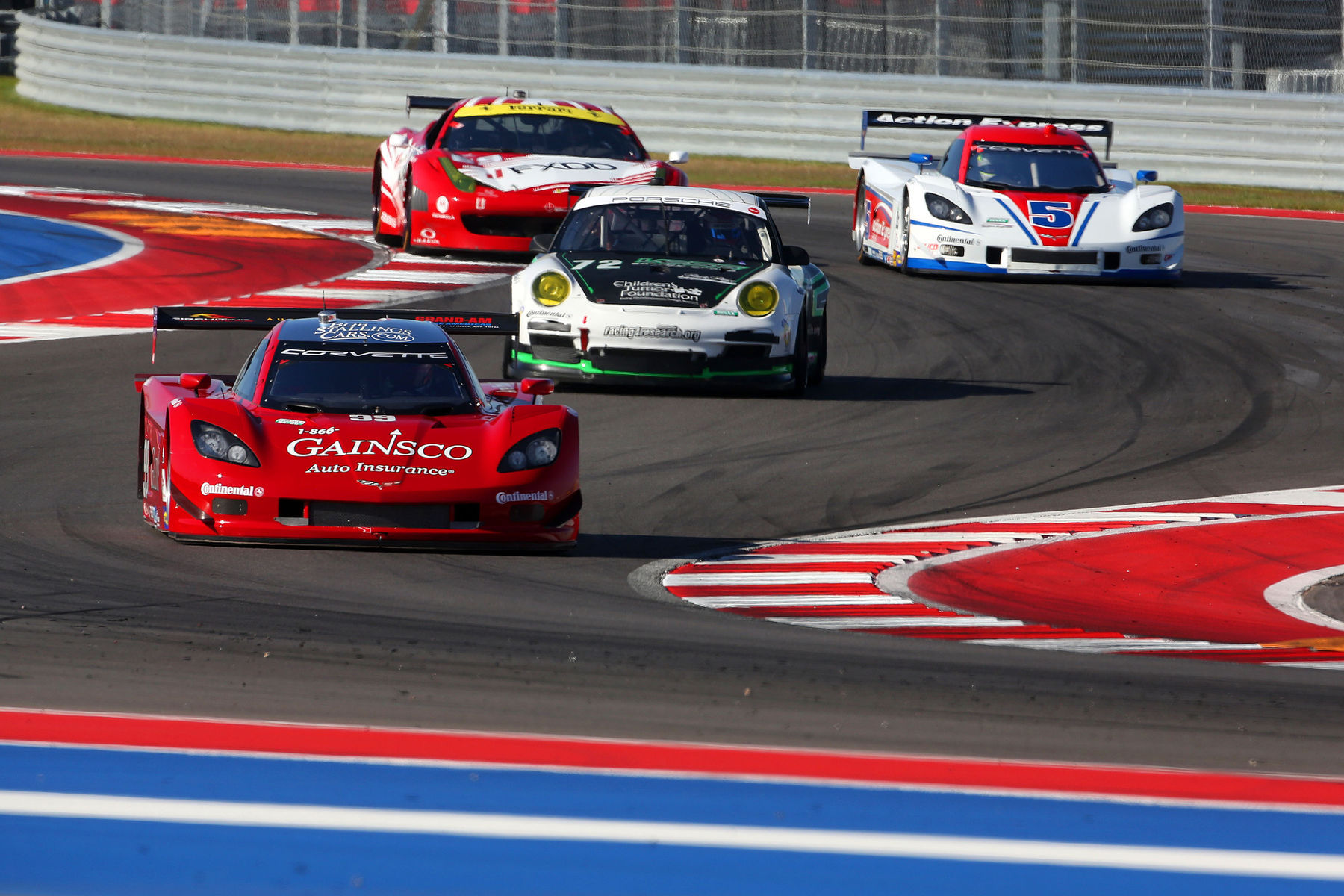   Making the esses even more trickier as the competition is heating up at COTA