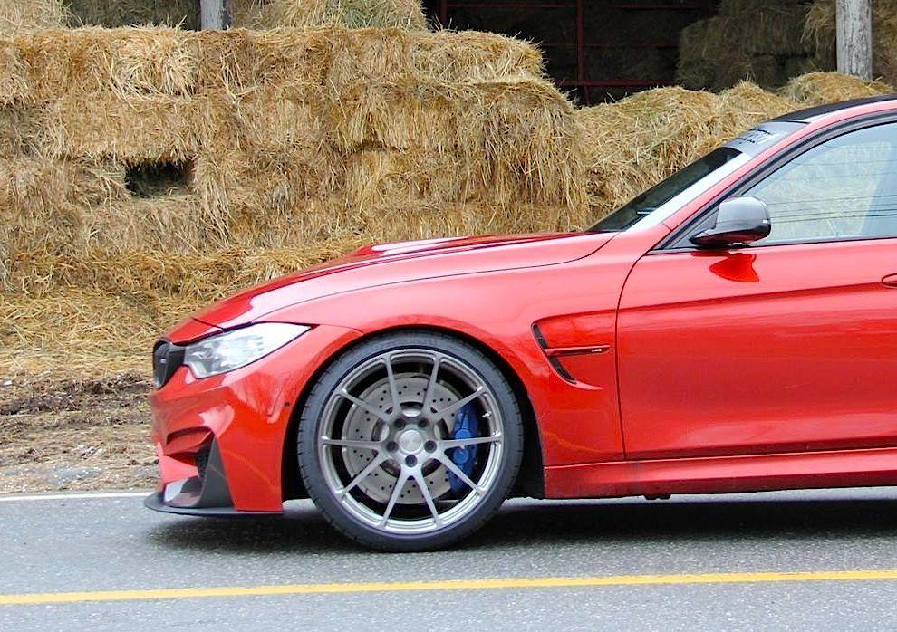 2015 BMW M3 | Turner Motorsport BMW F80 M3 Project Car on Forgeline One Piece Forged Monoblock GA1R Wheels