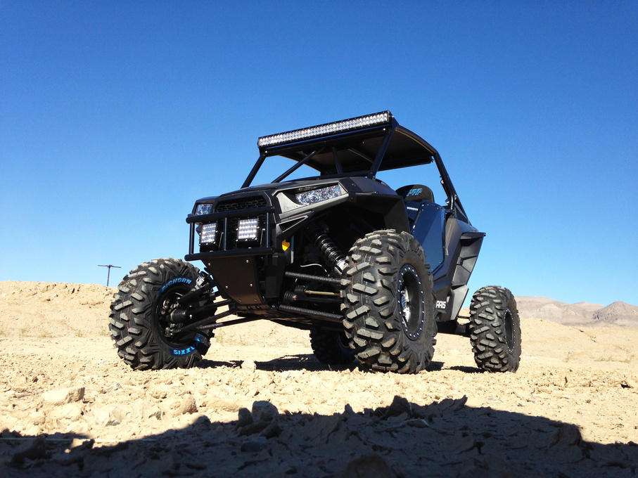Polaris  | Need Light? Two Rigid Industries Q-Series and an E-Series should do!