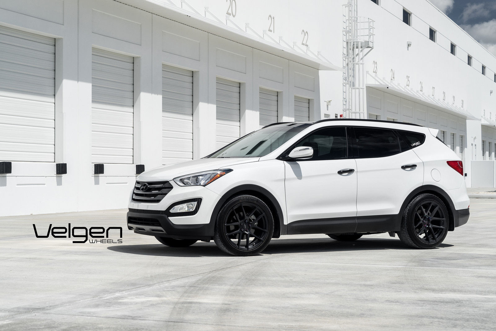 2015 Hyundai Santa Fe | Hyundai Santa Fe Sport on Velgen Wheels VMB5