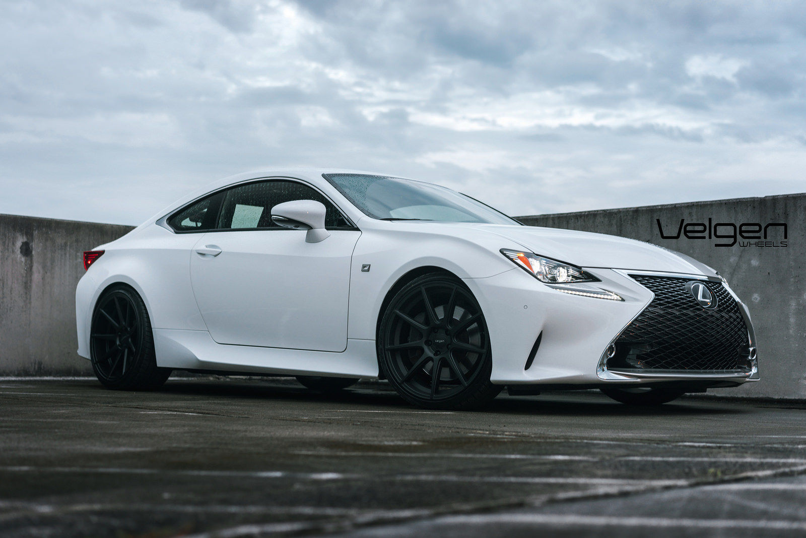 Lexus RC 350 | Lexus RC350 F Sport on Velgen Wheels VMB9