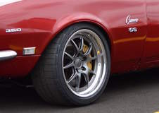 Nathan Johnson's Pro-Touring 1968 Camaro on Forgeline GA3 Wheels