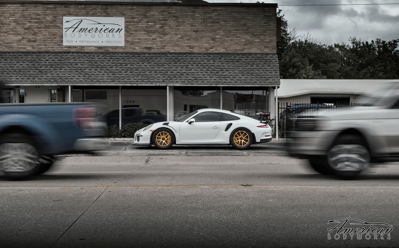 2017 Porsche 911 | Porsche 991 GT3 RS on Forgeline Carbon+Forged CF201 Wheels from American Body Works