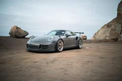Nardo Gray Porsche 911 GT3 RS - ADV.1 Centerlock ADV5.2 M.V2 Advanced Series Wheels