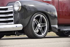 Scott's Schwartz Performance '52 Chevy 3100 Shop Truck on Forgeline Grip Equipped Schism Wheels