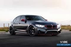 "BMW M3 on 20"" XO Luxury Wheels - Passenger Side Shot"