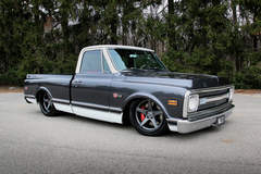 Roadster Shop's Craftsman Chevy C10 Truck on Forgeline CF3C Concave Wheels