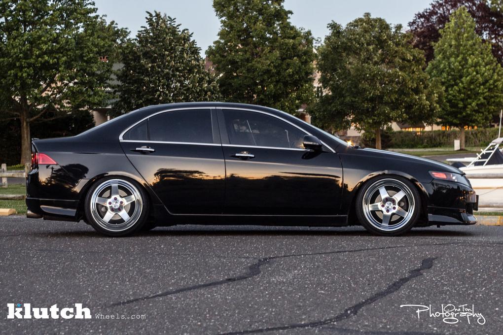 2006 Acura TSX   '06 Acura TSX on Klutch SL5's