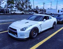 Tony Pasek's R35 Nissan GT-R on Forgeline One Piece Forged Monoblock GA1R Wheels
