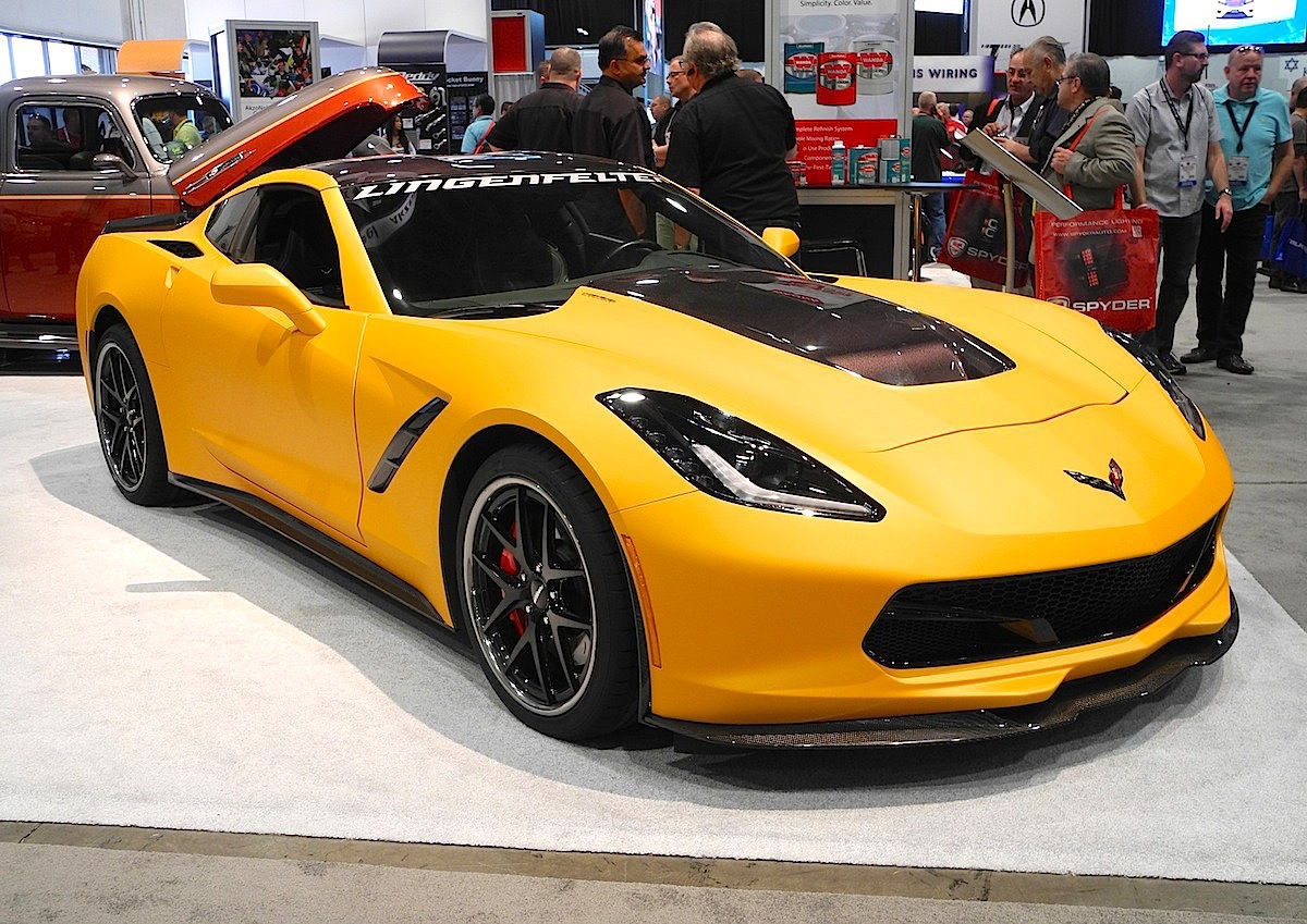 2014 Chevrolet Corvette Stingray | LPE C7 Corvette on Forgeline VX3C Wheels