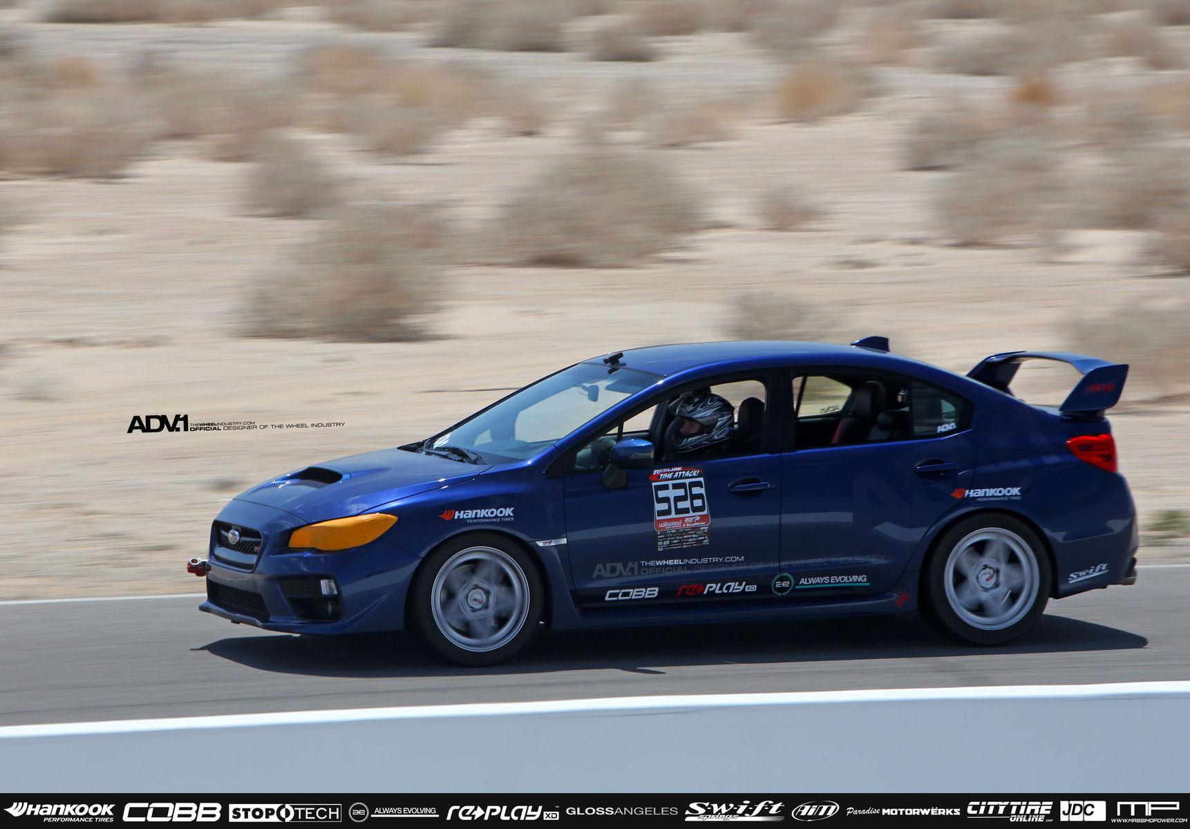 2015 Subaru WRX | SUBARU STI ADV5S REDLINE TIME ATTACK: ROUND 3 - CHUCKWALLA VALLEY RACEWAY - MAY 3