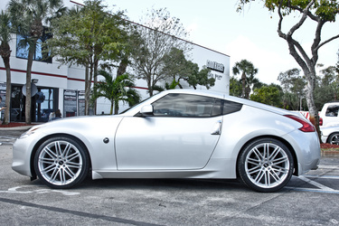 2010 Nissan 370Z | Nissan 370z on Ruff Racing R955's