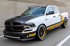 Pfaff Designs Supercharged Draggin Wagon Dodge Ram on Forgeline GA3C Concave Wheels