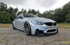 Silverstone BMW F80 M3 on Forgeline GA1R Deep Cap Wheels
