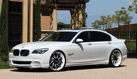 BMW 650i on Lexani LS101's