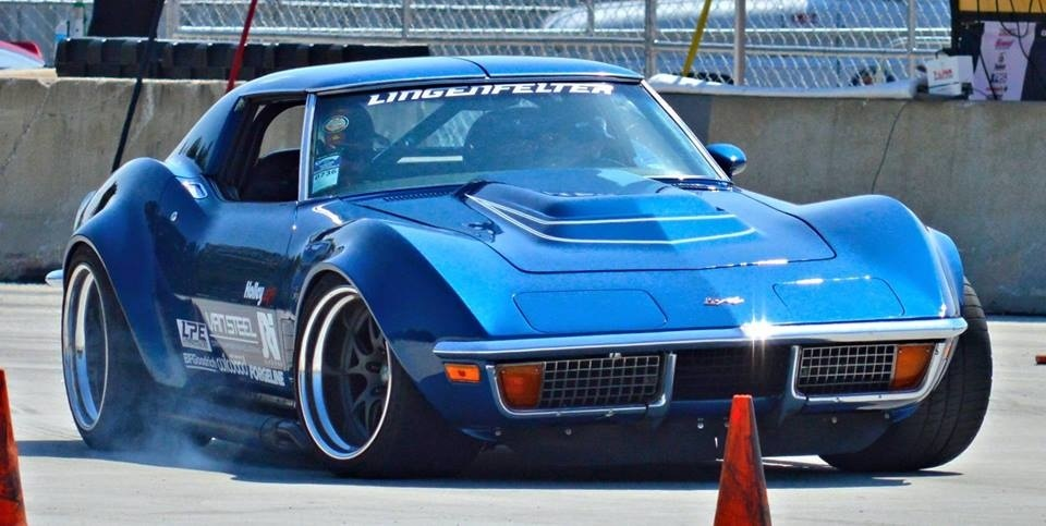 1972 Chevrolet Corvette Stingray | Danny Popp's '72 Corvette Stingray on Forgeline GA3R Wheels