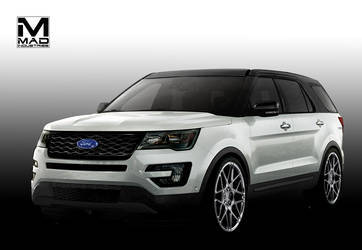 2015 Ford Explorer Sport | '15 Ford Explorer Sport by MAD Industries - Rendering
