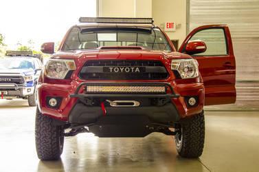 2014 Toyota Tacoma | N-FAB TRD PRO Build - Toyota Tacoma Front LEDs Shot