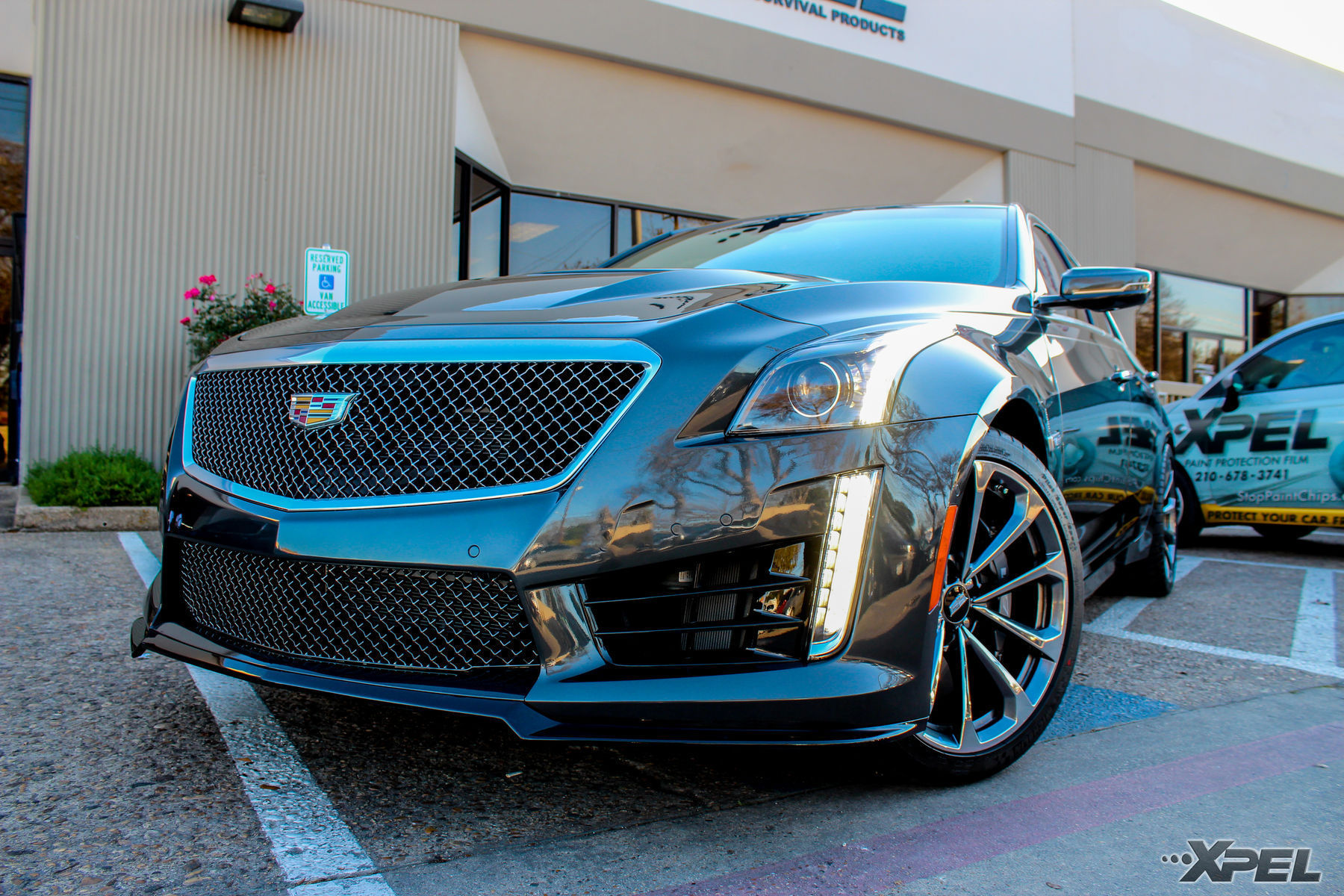 2016 Cadillac CTS-V | 2016 Cadillac CTS-V protected with XPEL ULTIMATE