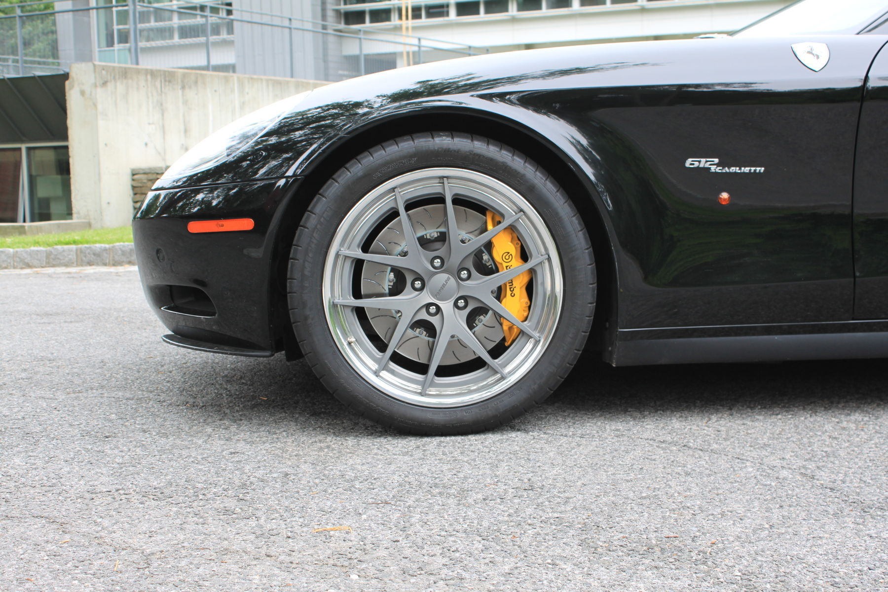 2006 Ferrari 612 Scaglietti |  Ferrari 612 Scaglietti on VX3C-SL Wheels
