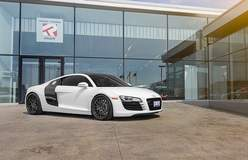 Audi R8 on Forgeline DE3C Wheels