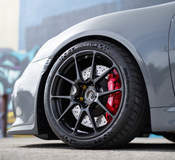 Jason's Targa Trophy Porsche Cayman GT4 on Forgeline One Piece Forged Monoblock GS1R Wheels