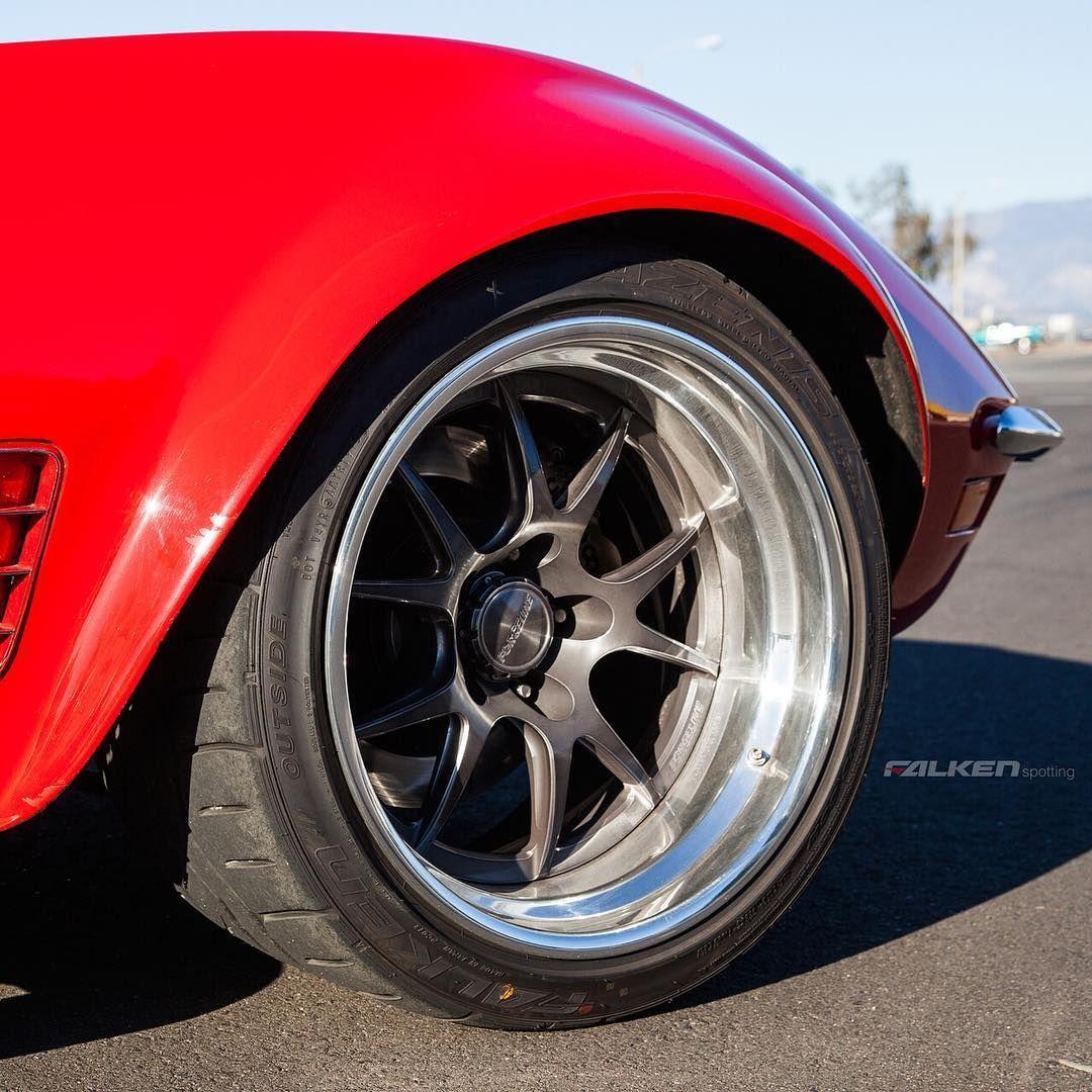 1970 Chevrolet Corvette | Forgeline GA3R and Falken Azenis Tire on Cris G's 1970 Corvette LT-1