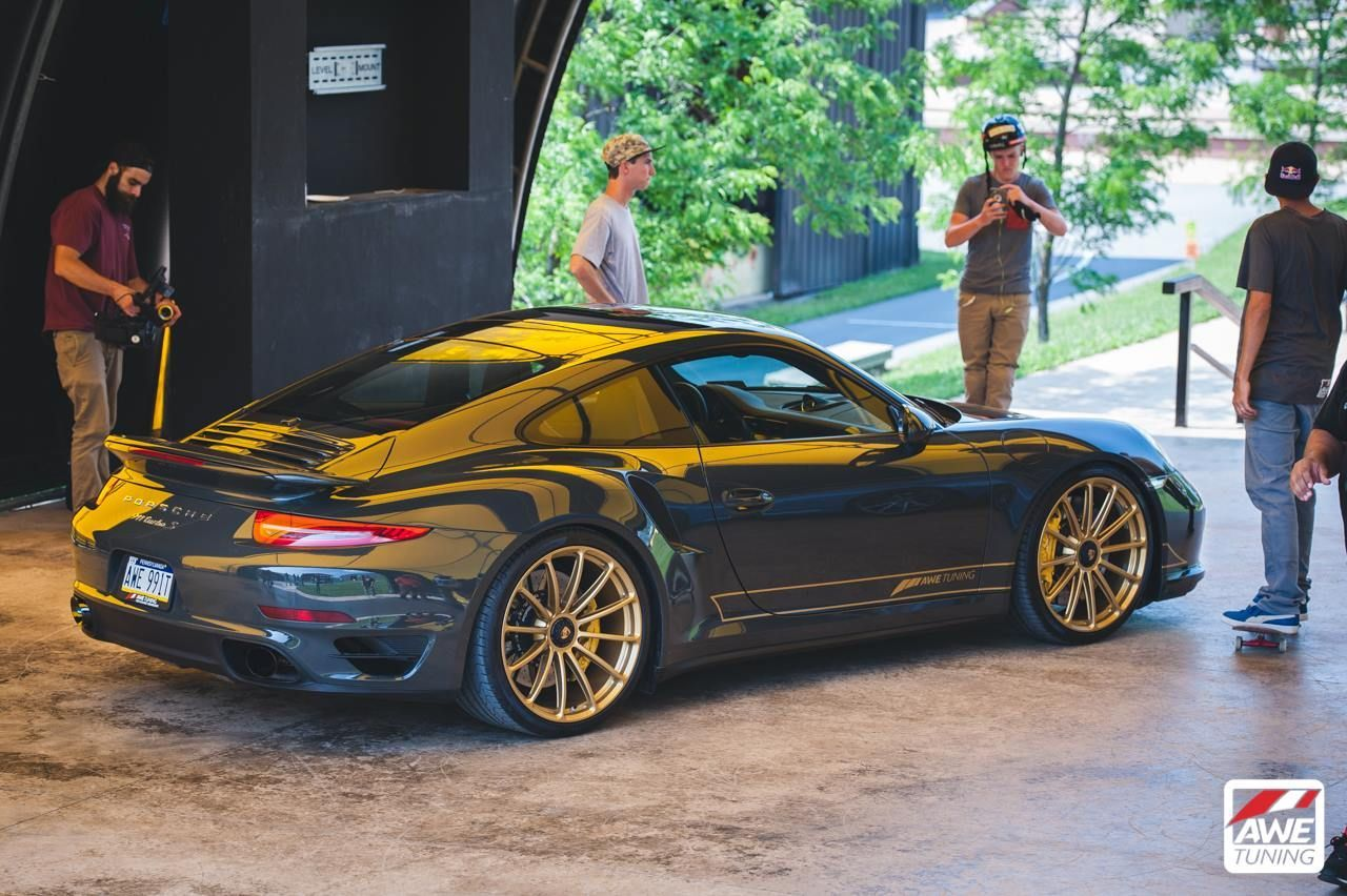 awe tuning 991 porsche 911 twin turbo s on forgeline gt1. Black Bedroom Furniture Sets. Home Design Ideas