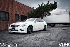 Infiniti G37 on Velgen Wheels - Wheel Shot